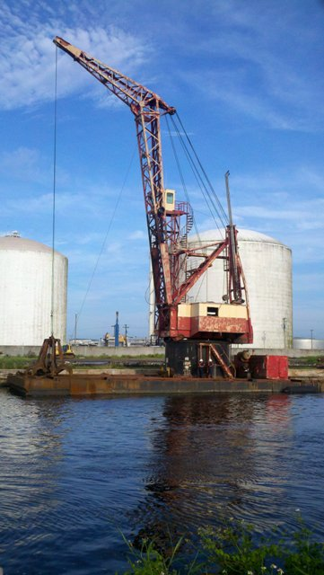 Crane Barges For Sale Sun Machinery Corp