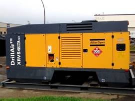 atlas copco xrvs1350cd7 air compressor ref9282r