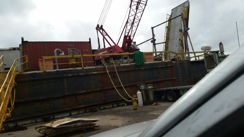 Crane Barges for Sale - Sun Machinery Corp
