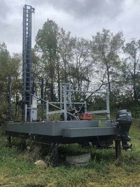 Pile Dirving Barges for Sale - Sun Machinery Corp